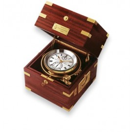 Wempe Unified Chronometer Brass/Mahogany