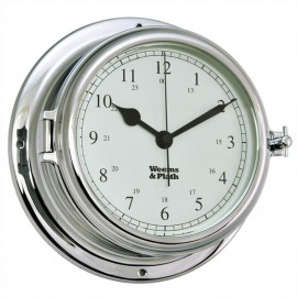 Weems & Plath Endurance II 135 CHROME Quartz Clock