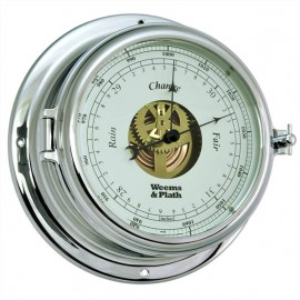 Weems & Plath Endurance II 135 CHROME Open Dial Barometer