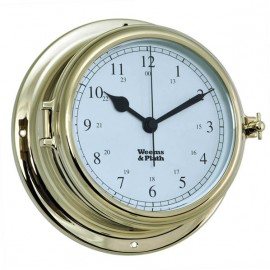 Weems & Plath Endurance II 135 Brass Quartz Clock