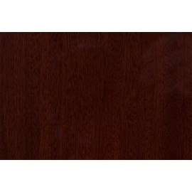 Wooden plate Mahogany matt 130 mm diam.