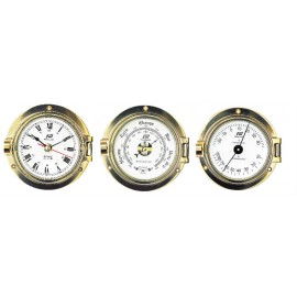 plastimo 3 inch klok brass advance pack met alarm