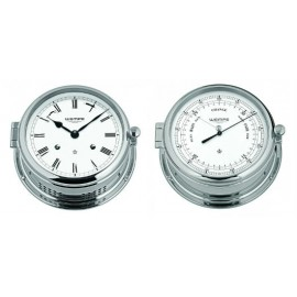 Wempe ADMIRAL II messing chrome plated Barometer pack