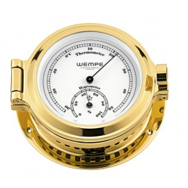 Nautik brass Thermo/Hygrom.