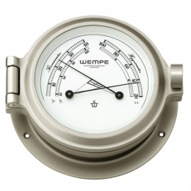 Nautik brass  nickel plated Comfortmeter