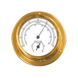 Talamex Thermo-hygrometer Serie 110 messing