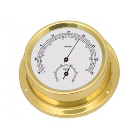 Talamex Thermo-hygrometer serie 125 messing