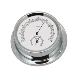 Talamex Thermo-hygrometer serie 125 messing verchroomd