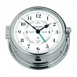 Wempe ADMIRAL II Messing  chrome plated Tide clock CW460005