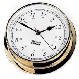 Weems and Plath Endurance 125 quartz Clock Brass