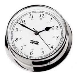 Endurance 125 quartz Clock Chrome