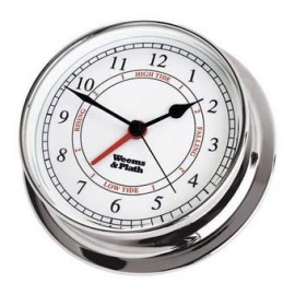 Endurance 125 quartz clock and tide Chrome