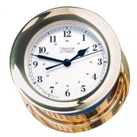 Atlantis Quartz Clock brass