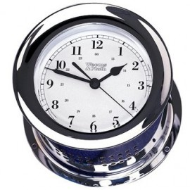 Atlantis Quartz Clock chrome