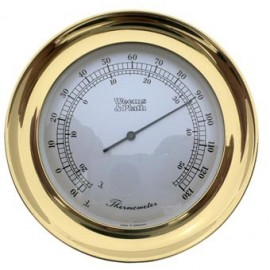 Atlantis Thermometer Brass