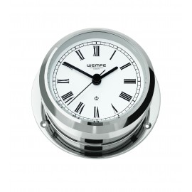 PIRAT II brass  chrome plated Ship's clock