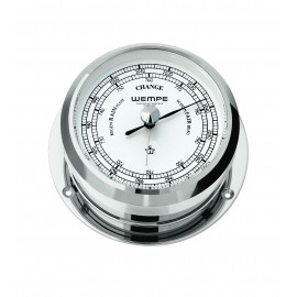 PIRAT II brass  chrome plated  Barometer