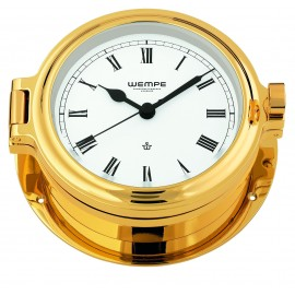 Regatta brass  gold plated Ship's clock