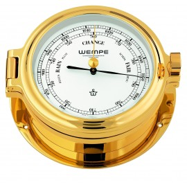 Regatta brass  gold plated Barometer