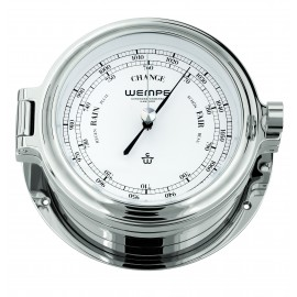 Wempe Cup Messing  chrome plated Barometer Ø 140mm