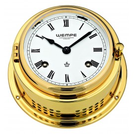 BREMEN II   brass Striking clock (Ship bells)