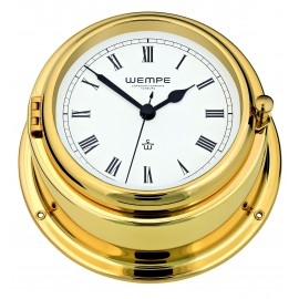 BREMEN II   brass Ship's clock