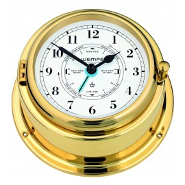 BREMEN II   brass Tide clock