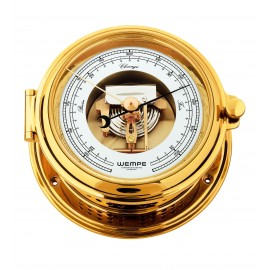 SENATOR  brass DD-Barometer with visual movement