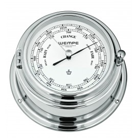 Wempe BREMEN II   Messing  chrome plated Barometer