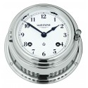 Wempe BREMEN II   Messing  chrome plated Striking clock (Ship bells)