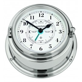 Wempe BREMEN II   Messing  chrome plated Tide clock