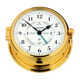 ADMIRAL II brass Tide clock
